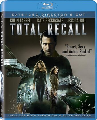 Total Recall (2012) (Director's Cut, Extended Edition, 2 Blu-ray + DVD)