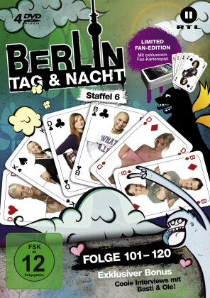 Berlin - Tag & Nacht - Staffel 6 (Fan Edition, Limited Edition, 4 DVDs)