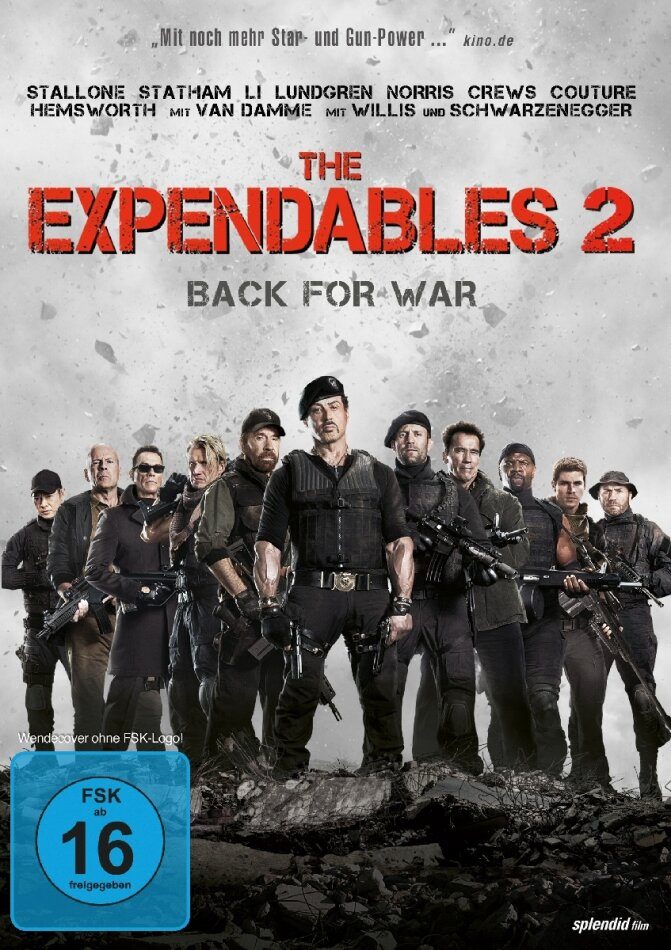 The Expendables 2 - Back for War (FSK 16 Version) (2012)