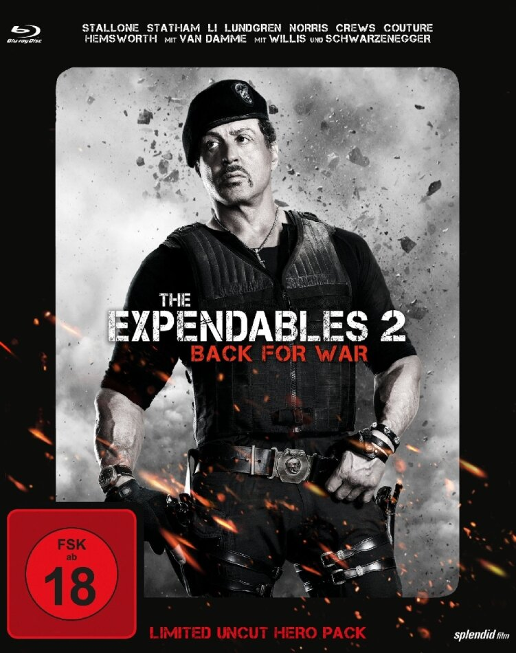 The Expendables 2 - Back for War (Limited Uncut Hero Pack) (2012)