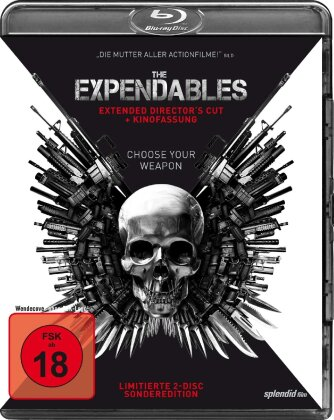 The Expendables - (Extended Director's Cut + Kinofassung - Limited Edition 2 Discs) (2010)