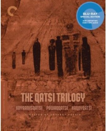 The Qatsi Trilogy - Koyaanisqatsi / Powaqqatsi / Naqoyqatsi (Criterion Collection, 3 Blu-rays)