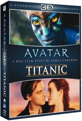 Avatar 3D (2009) / Titanic 3D (1997) (2 Blu-ray 3D)