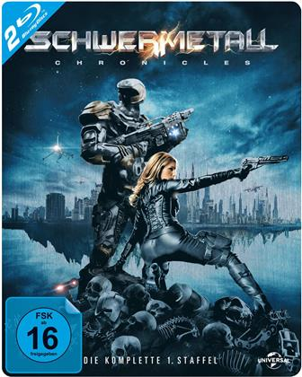 Schwermetall Chronicles - Staffel 1 (Steelbook, 2 Blu-rays)