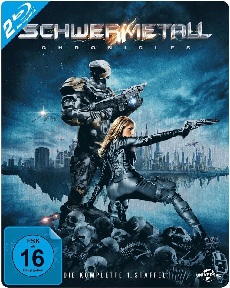 Schwermetall Chronicles - Staffel 1 (Steelbook, 2 Blu-rays)