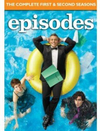 Episodes - Seasons 1 & 2 (Gift Set, 3 DVD)