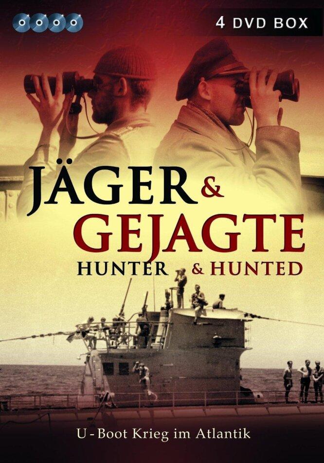 Jäger & Gejagte - Hunter & Hunted (s/w, 4 DVDs)