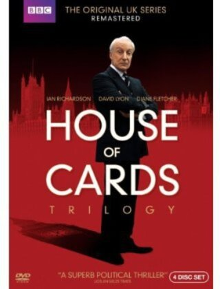 House of Cards Trilogy (1990) (Remastered, 4 DVDs)