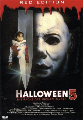 Halloween 5 (1989) (Kleine Hartbox, Red Edition Reloaded, Uncut)