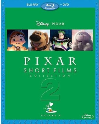 Pixar Short Films Collection - Vol. 2 (Blu-ray + DVD)