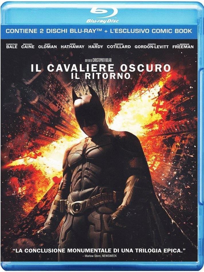 Il cavaliere oscuro - Il ritorno - (+ Comic Book) (2012) (Limited Edition, 2 Blu-rays)