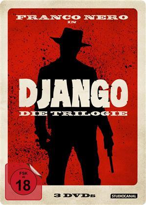 Django - Die Trilogie (Steelbook, 3 DVDs)