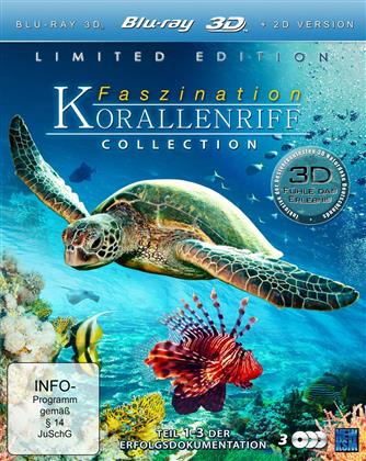 Faszination Korallenriff Collection (Limited Edition, 3 Blu-ray 3D (+2D))