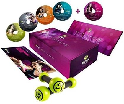 Zumba Kit Fitness - Vol. 2 - Exhilarate Body Shaping System (5 DVDs)
