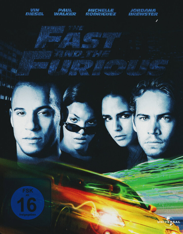 The Fast and the Furious (2001) (Limited Edition, Steelbook)