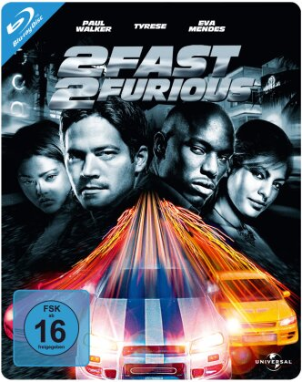 2 Fast 2 Furious (2003) (Limited Edition, Steelbook)