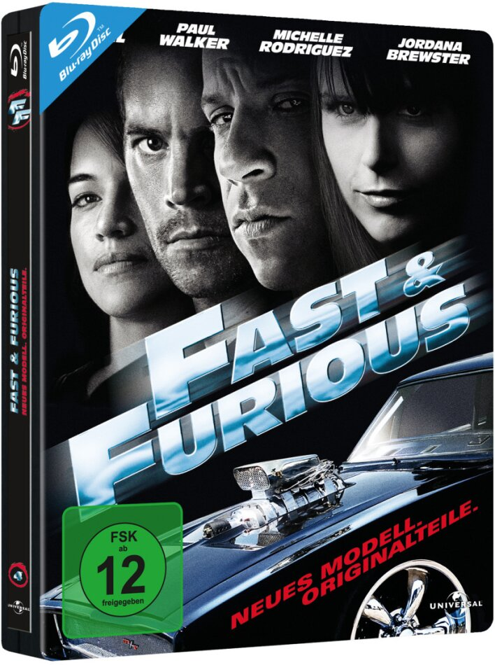 Fast and Furious - Neues Modell. Originalteile. (2009) (Edizione Limitata, Steelbook)