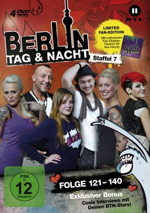 Berlin - Tag & Nacht - Staffel 7 (Fan Edition, Limited Edition, 4 DVDs)