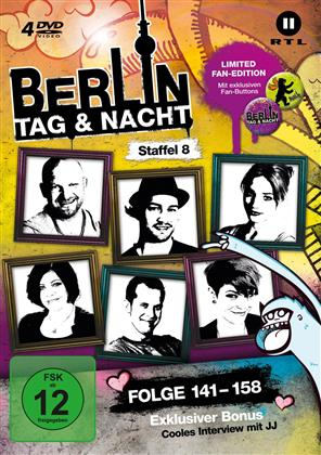 Berlin - Tag & Nacht - Staffel 8 (Fan Edition, Limited Edition, 4 DVDs)