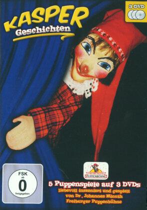 Kasper Geschichten - 5 Puppenspiele auf 3 DVDs