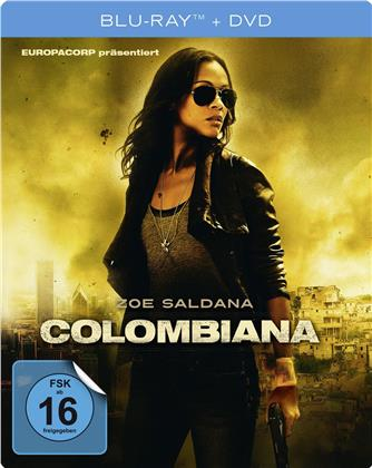 Colombiana (2011) (Limited Edition, Steelbook, Blu-ray + DVD)