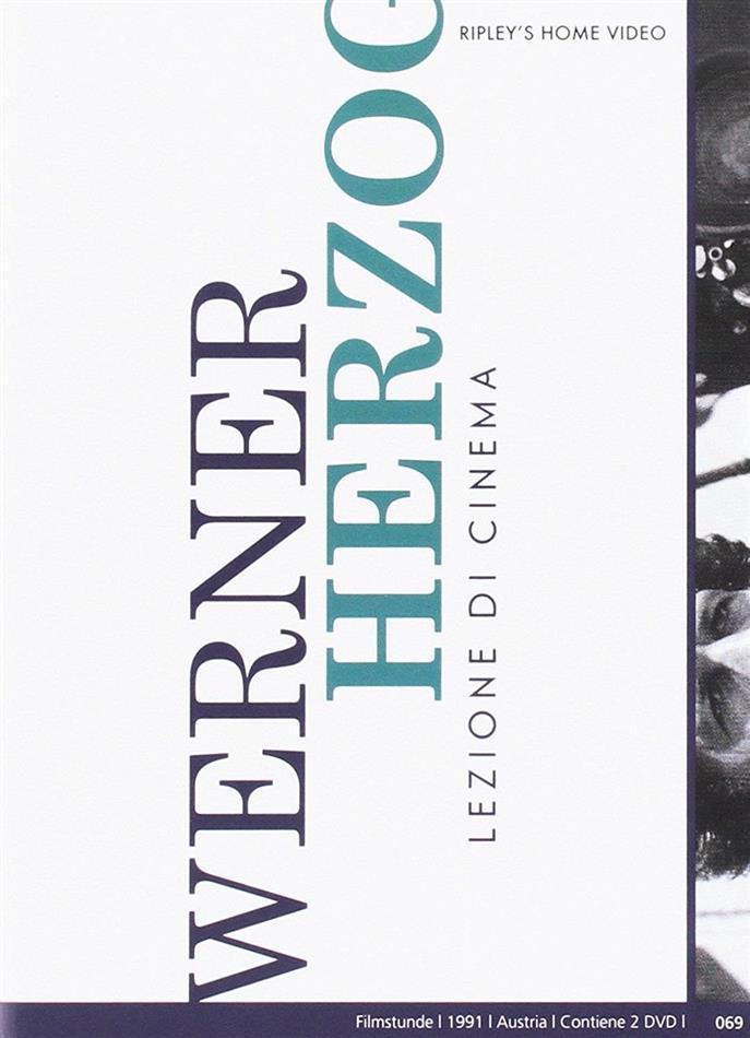 Werner Herzog - Lezioni di Cinema (1991) (s/w, Neuauflage, 2 DVDs)
