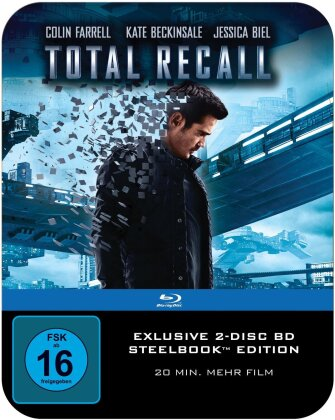 Total Recall (2012) (Director's Cut, Steelbook, 2 Blu-rays)