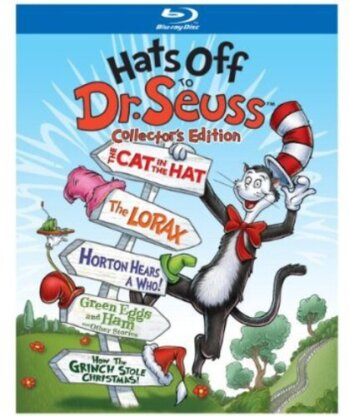 Hats off to Dr. Seuss (Collector's Edition, 5 Blu-rays)