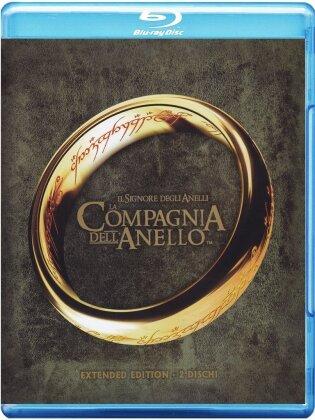 Il signore degli anelli - La compagnia dell'anello (2001) (Extended Edition, 2 Blu-rays)