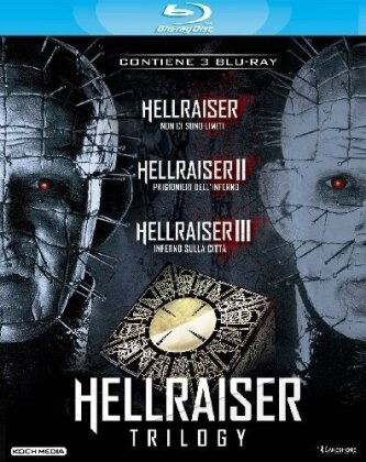 Hellraiser Trilogy (3 Blu-rays)