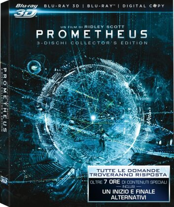 Prometheus (2012) (3 Blu-ray 3D (+2D))