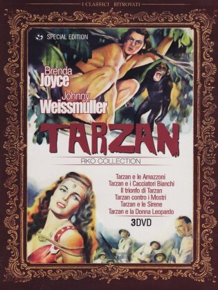 Tarzan RKO Collection (s/w, Special Edition, 3 DVDs)