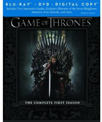 Game of Thrones - Season 1 (Edizione Limitata, 5 Blu-ray + DVD)