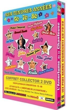 Various Artists - Nos tendres années 60-70-80 (2012) (Collector's Edition, 2 DVDs)