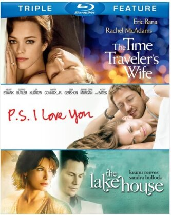 The Time Traveler's Wife / P.S. I Love You / The Lake House - (Triple Feature 3 Discs)