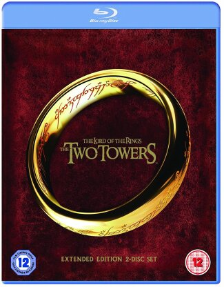 The Lord of the Rings - The Two Towers (2002) (Extended Edition, 2 Blu-rays)