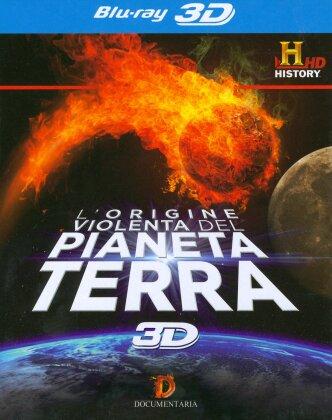 L'origine violenta del Pianeta Terra