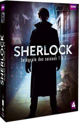 Sherlock - Intégrale des saisons 1 & 2 (BBC, 4 DVDs)