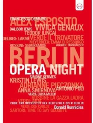 Deutschen Oper Berlin, … - Berlin Opera Night - 2011 (Euro Arts)