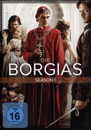 Die Borgias - Staffel 1 (Neuauflage, 3 DVDs)