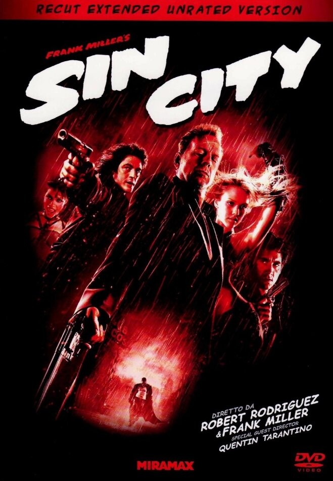 Sin City (2005) (Recut, Special Edition, Unrated, 2 DVDs)