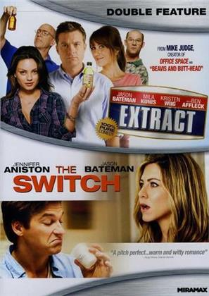 The Switch / Extract (Double Feature, 2 DVDs)