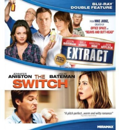 The Switch / Extract (Double Feature, 2 Blu-rays)