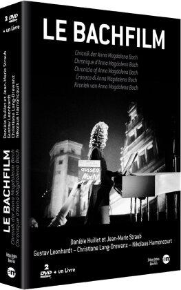 Le Bachfilm - Chronique d'Anna Magdalena Bach (1968) (s/w, 2 DVDs + Buch)
