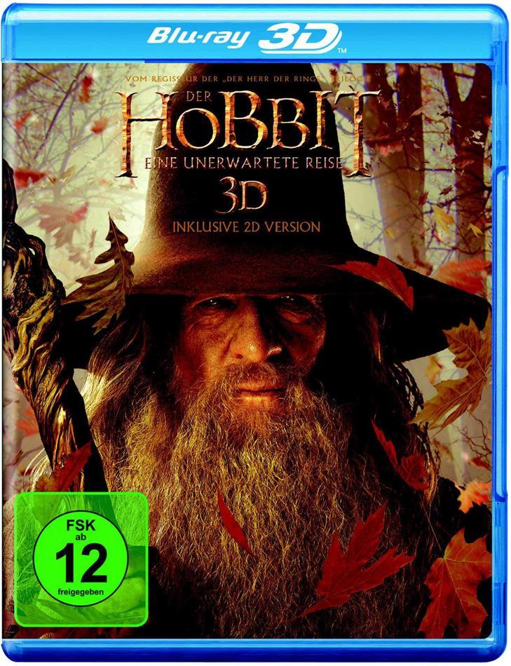 Der Hobbit - Eine unerwartete Reise (2012) (3 Blu-ray 3D (+2D))