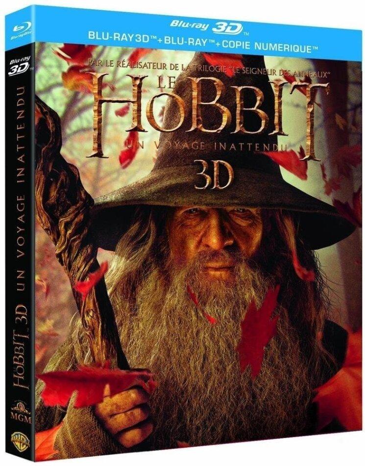 Le Hobbit - Un voyage inattendu (2012) (4 Blu-ray 3D (+2D))