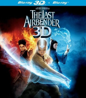 The Last Airbender (2010) (Blu-ray 3D + Blu-ray)