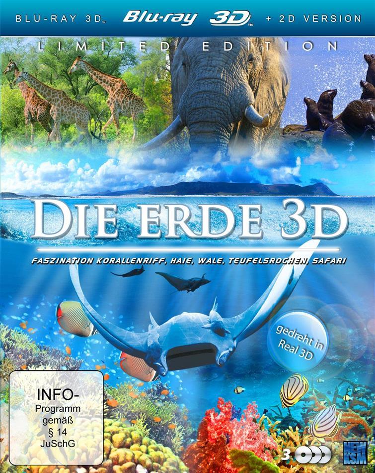 Die Erde (Limited Edition, 3 Blu-ray 3D (+2D))