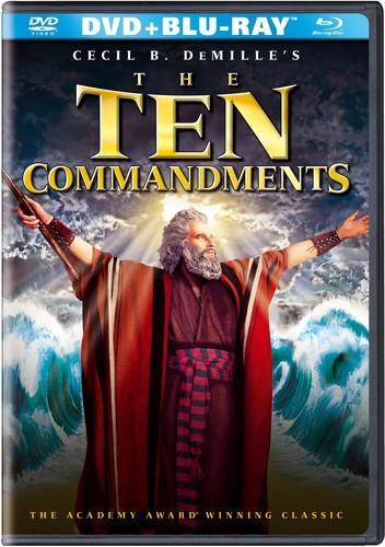 The Ten Commandments (1956) (4 Blu-rays + DVD)