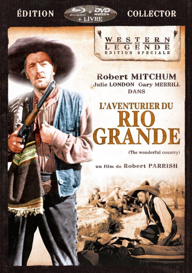 L'Aventurier du Rio Grande (1959) (Western de Légende, Special Collector's Edition, Blu-ray + DVD + Buch)